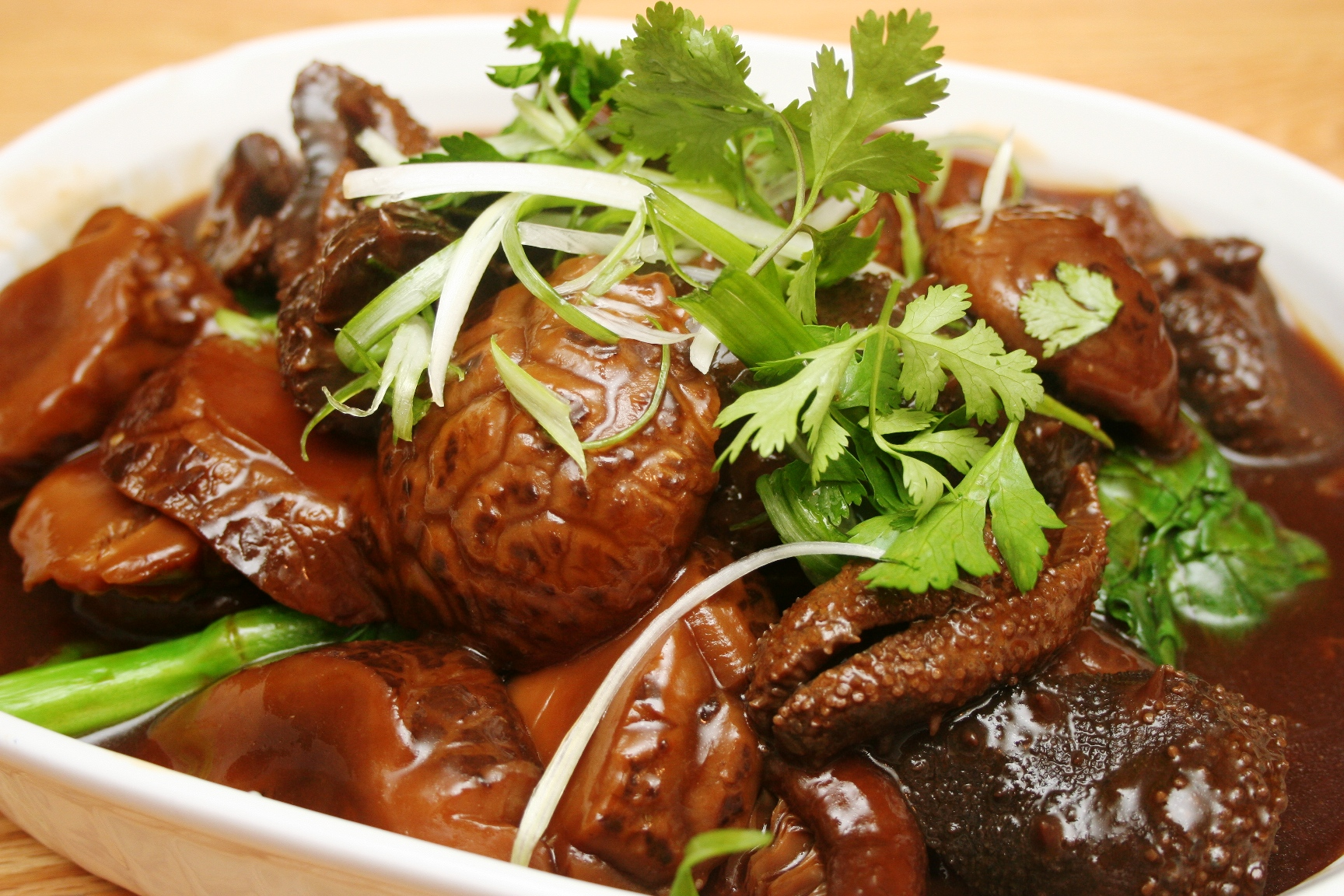 SEA CUCUMBER IN BROWN SAUCE RECIPE